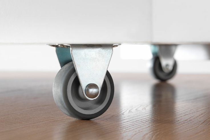 Wheels for Flatpax Kids rollout box. #kidsfurniture