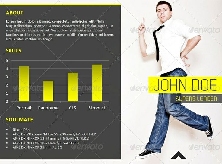 Esquilino Modern Powerpoint Resume Template. 10 Best Resume Templates  Images On Pinterest