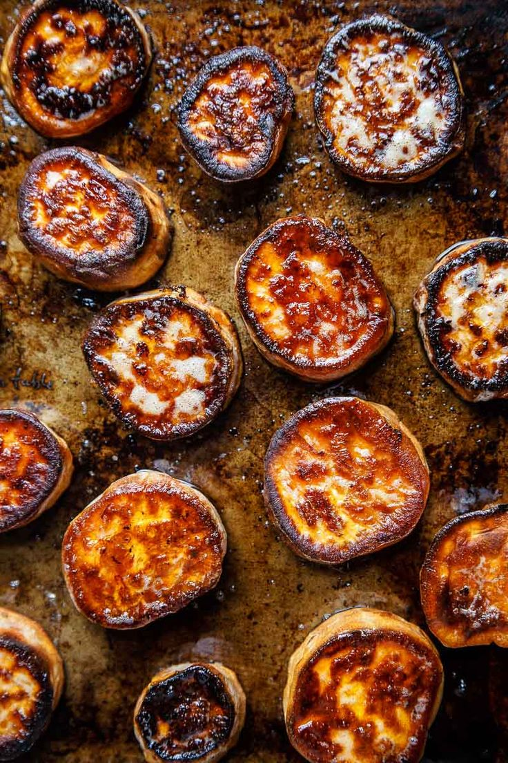 Melting sweet potato potatoes maple syrup pecans thanksgiving side dish