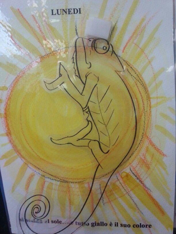 Il camaleonte (filastrocca della settimana)