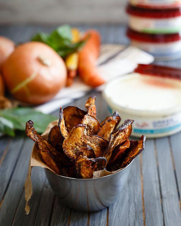 Mediterranean Eggplant Chips