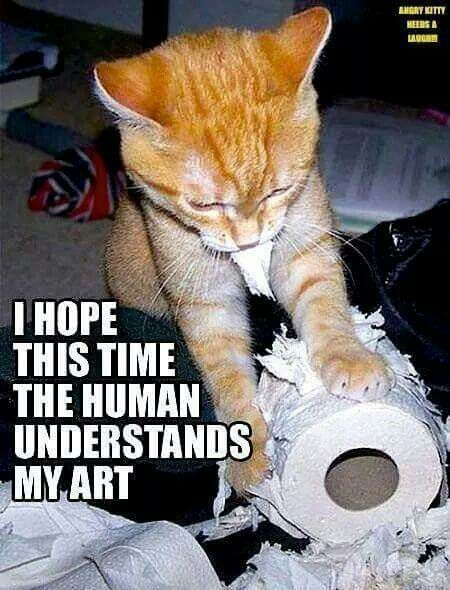 Cleverly trying to disguise himself as an artist by day....