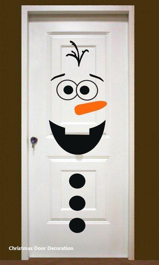 New Christmas Door Decoration #christmasdoordecoration - 15 Most Creative Christmas Door Themes: 1.Green & Maroon Door Diy