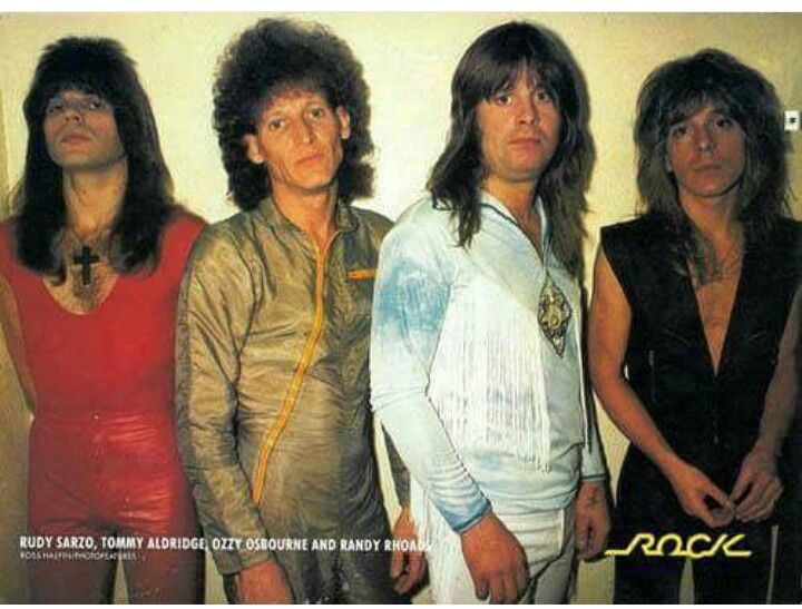 Ozzy Osbourne Band with Randy Rhoads..........