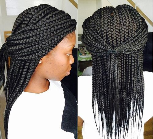 Miraculous 1000 Ideas About Thick Box Braids On Pinterest Box Braids Hairstyles For Women Draintrainus