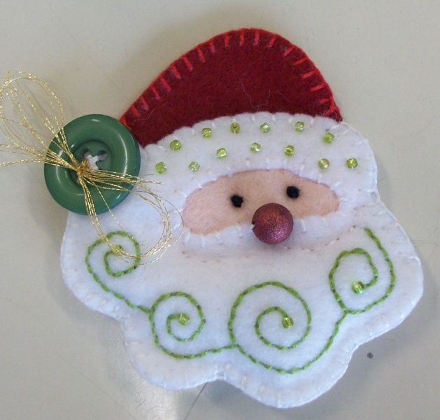 Make Felt santa with #Polymat #Felt 5/5 STAR on eBay and Amazon. Visit Bargainshore.com MXS