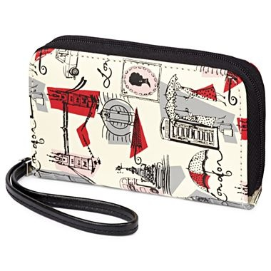 Lulu by Lulu Guinness™ Wristlet - jcpenney... Have this and LOVE IT!!!!