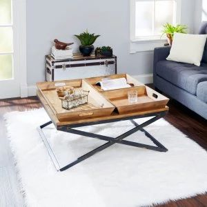 Square Coffee Tables on Hayneedle - Square Coffee Tables For Sale