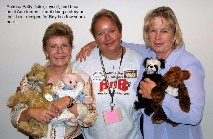 Patty Duke Me And Ann Inman Teddy Bear Displays Pinterest Duke And Patty Duke