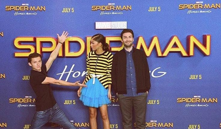 Tom Holland & Zendaya | Spiderman | Spider-Man Homecoming press |