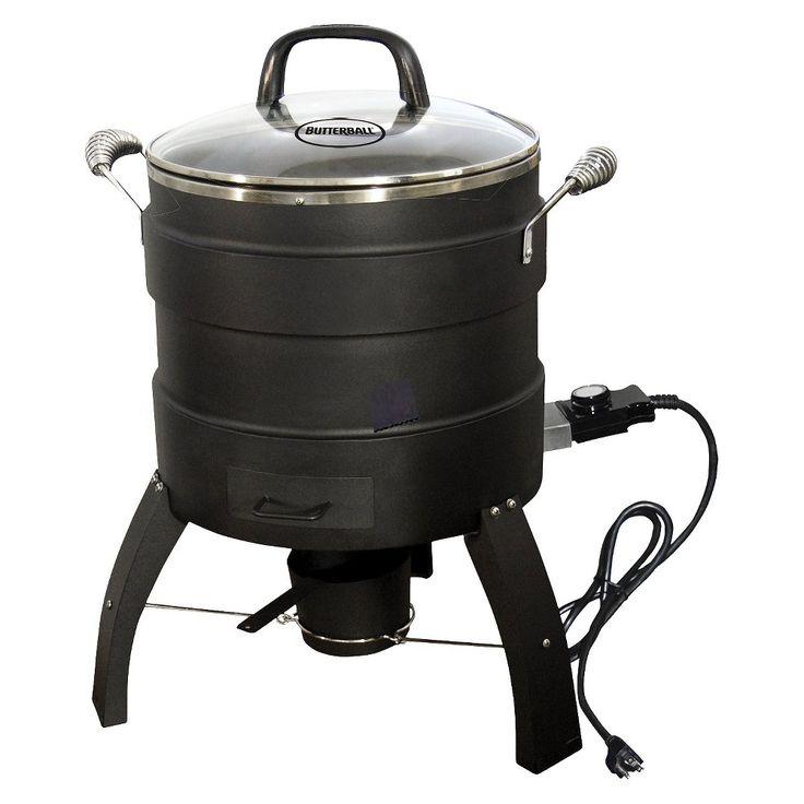 Butterball Oil-Free Electric Turkey Fryer/Roaster, Black