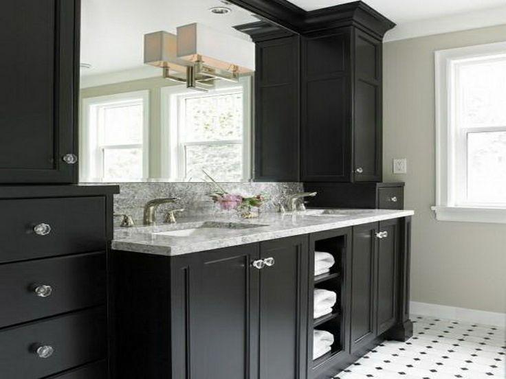 1000+ images about Black Bath Vanities on Pinterest | Modern ...