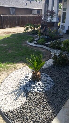 Best 25 landscaping with rocks ideas on pinterest landscaping with flowers diy landscaping - Tips using rock landscaping ...