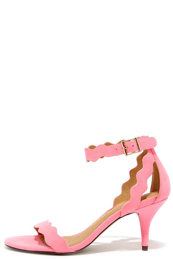 Chinese Laundry Rubie Pink Kitten Heels at Lulus.com!