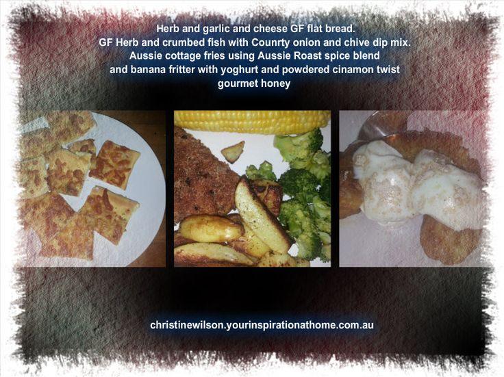 Tonight's dinner. Simply yum. http://christinewilson.yourinspirationathome.com.au