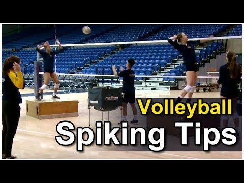 Volleyball Spiking Tips - The Arm Swing - Coach Ashlie Hain - YouTube