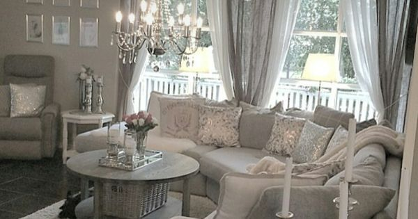 Shabby and Charme: In Norvegia a casa di Linda | Moving | Pinterest | Facebook, Grey and Shabby chic