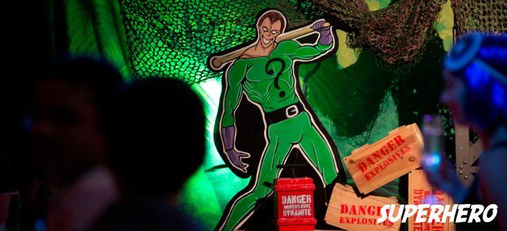 Superhero Theme - Sydney Prop Specialists