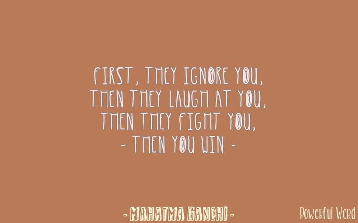 #ignore #laugh #fight #win #powerfulword #mbijak