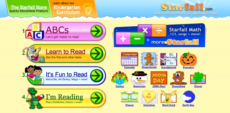Great site for parent's to practice pre