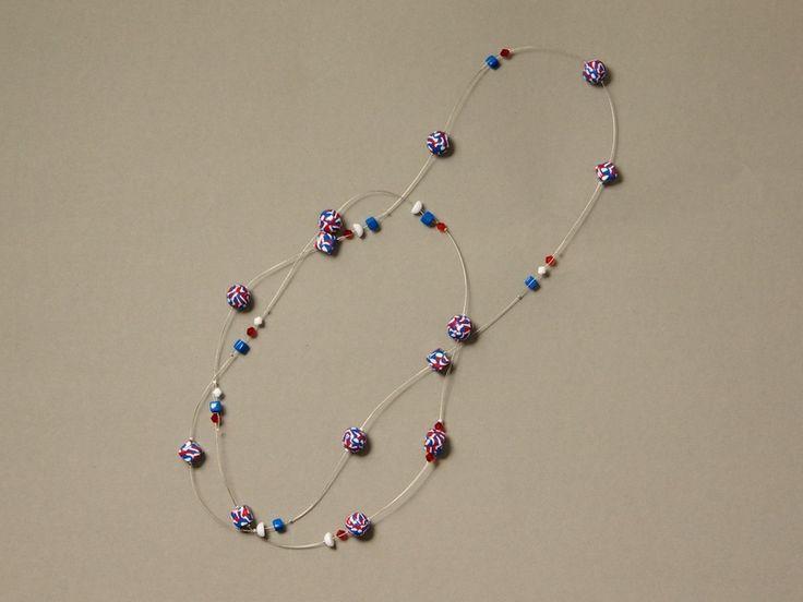 Lange Halskette - ♥ US Style ♥ von ViennaCrafties auf DaWanda.com