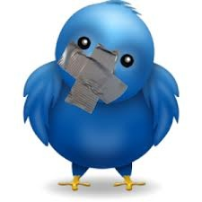 This is saying twitter is banned in some places because people use bad language on twitter.