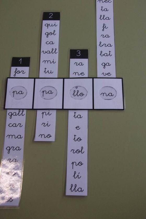 forma palabras: