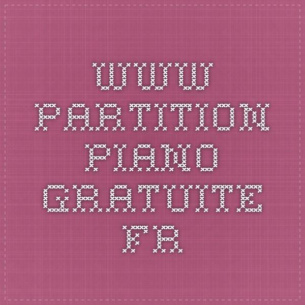 1000 id es sur le th me partition piano gratuite sur for Idees lucratives gratuites
