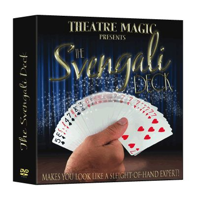 Svengali Deck (DVD and Gimmick) by Theatre Magic - Trick
