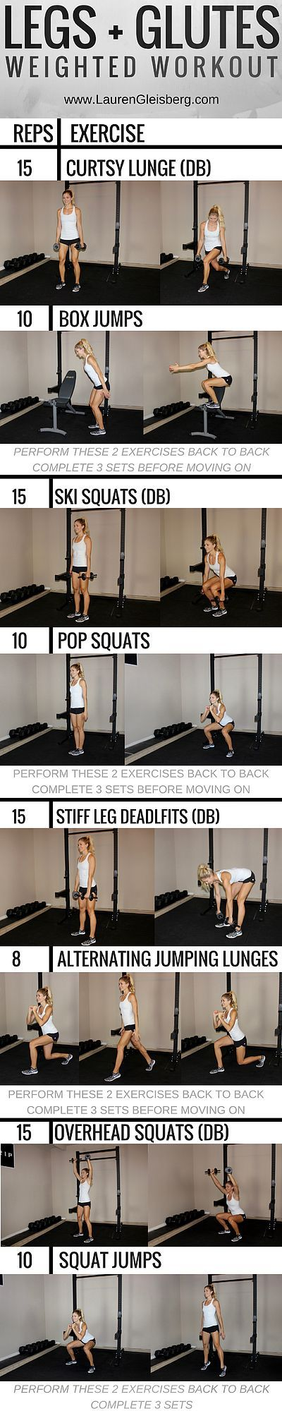 WORKOUT OF THE DAY: LOWER BODY CIRCUIT