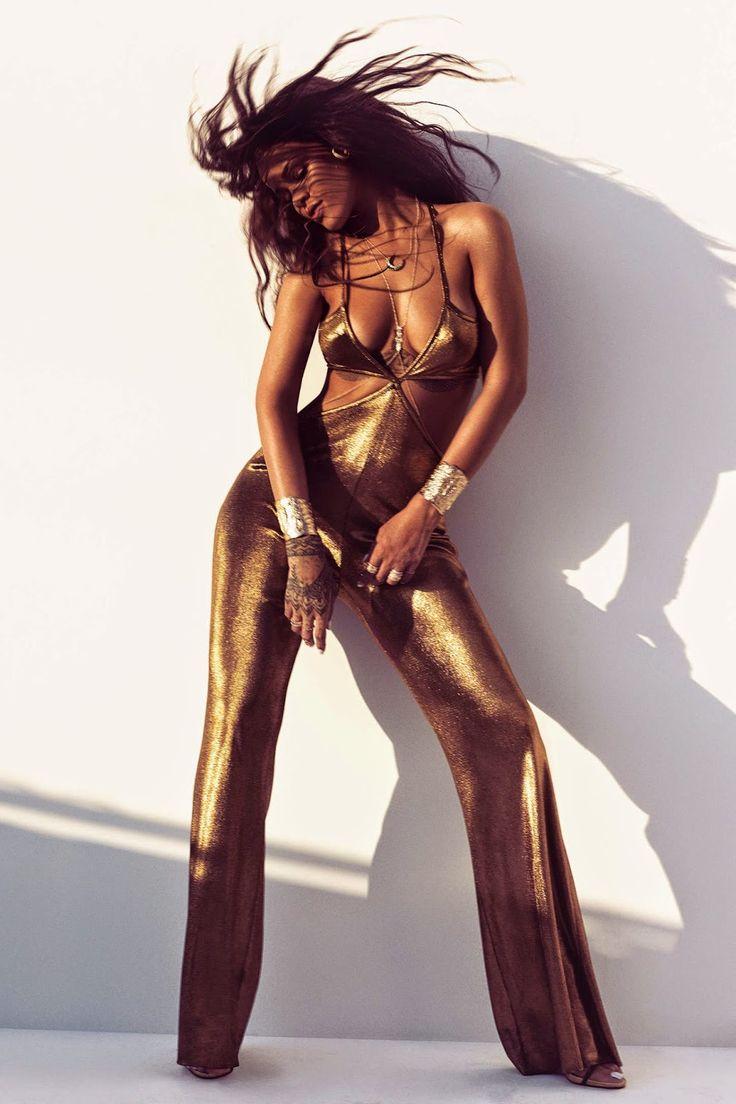 Rihanna in Harpers Bazaar US – March 2015