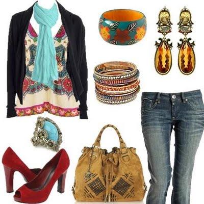 Karinne Ribeiro - Blog: Moda : Hippie Chic !