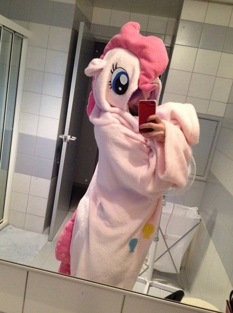 Pajamas: onesie, pinkie pie, my little pony, character - Wheretoget