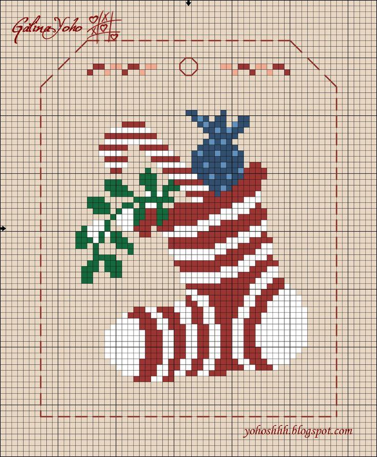 c'est dans un blog russe et c'est très diversifié... un chat LOVE Noël London Paris Et d' autres très nombreuses grilles et idées de créations... Le lien ICI