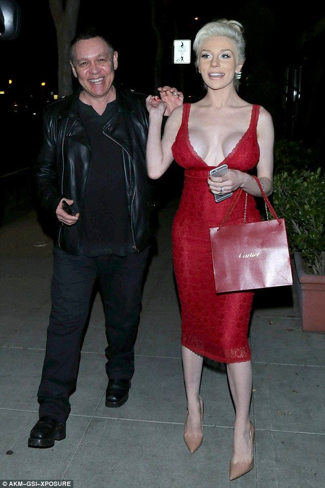 Couldn't be happier: Courtney Stodden has revealed she plans to renew her wedding vows to ...
