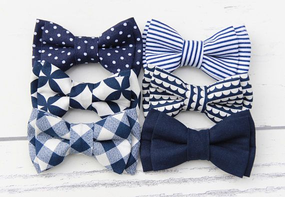 Best 25+ Navy bow tie ideas on Pinterest | Polka dot bow ...