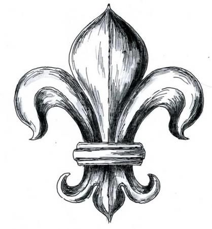 Louis Xiv Fleur De Lis My Style Fleur De Lis Tattoos Tattoo