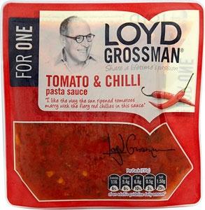 Lloyd Grossman packet