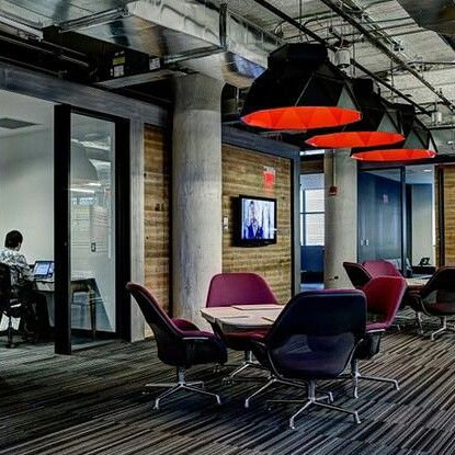 Apollo Black & red by Romy Kühne Design for Dark the office of Lowe Campbell Ewald in Detroit US