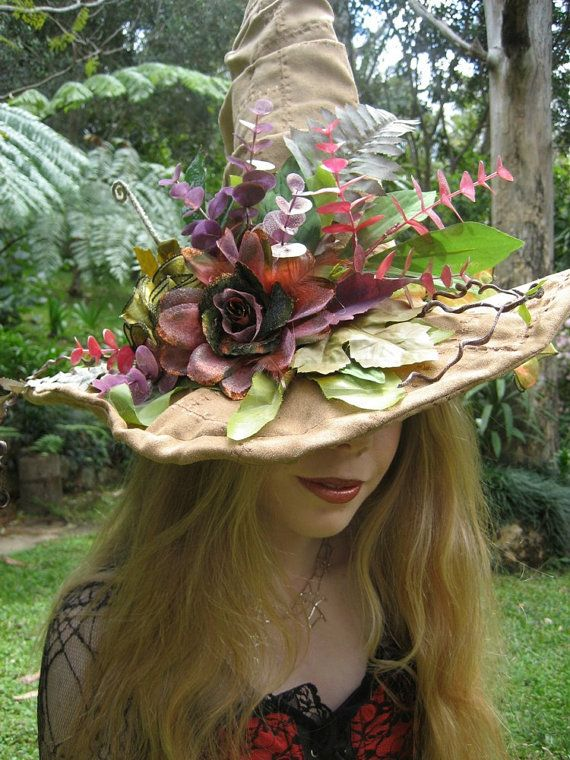 Quite the prettiest and most feminine Witches Hat ever. Must buy a Gandalf hat and decorate it.