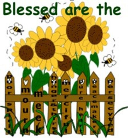 Free Sunday School Craft For The Beatitudes