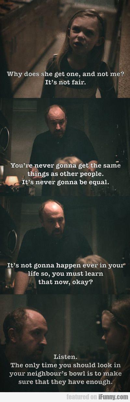 A little wisdom from Louis CK