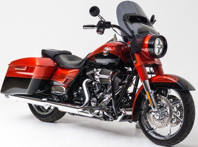 #Forsale 2014 Harley Davidson Cvo Road King #Auction @$10,100.00