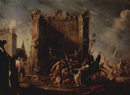 Johann Heinrich Schönfeld (1609-1683), The abduction of the Sabine women, c. 1640