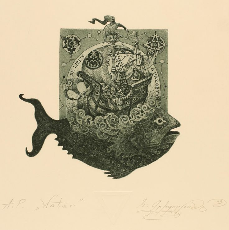 etching ex libris - Google Search