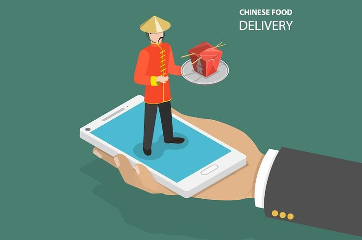 Chinese food online order by AndriiStore on @creativemarket