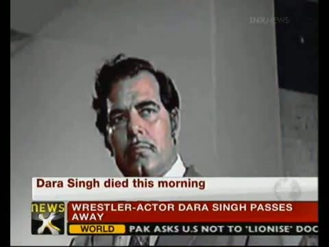 Bollywood mourns over Dara Singh's death video