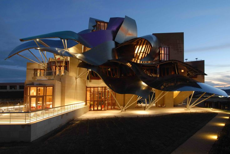 Marques de Riscal Winery in #spain #rioja #wine