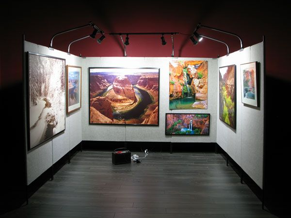 86 best images about art gallery on pinterest temporary for Display walls for art shows