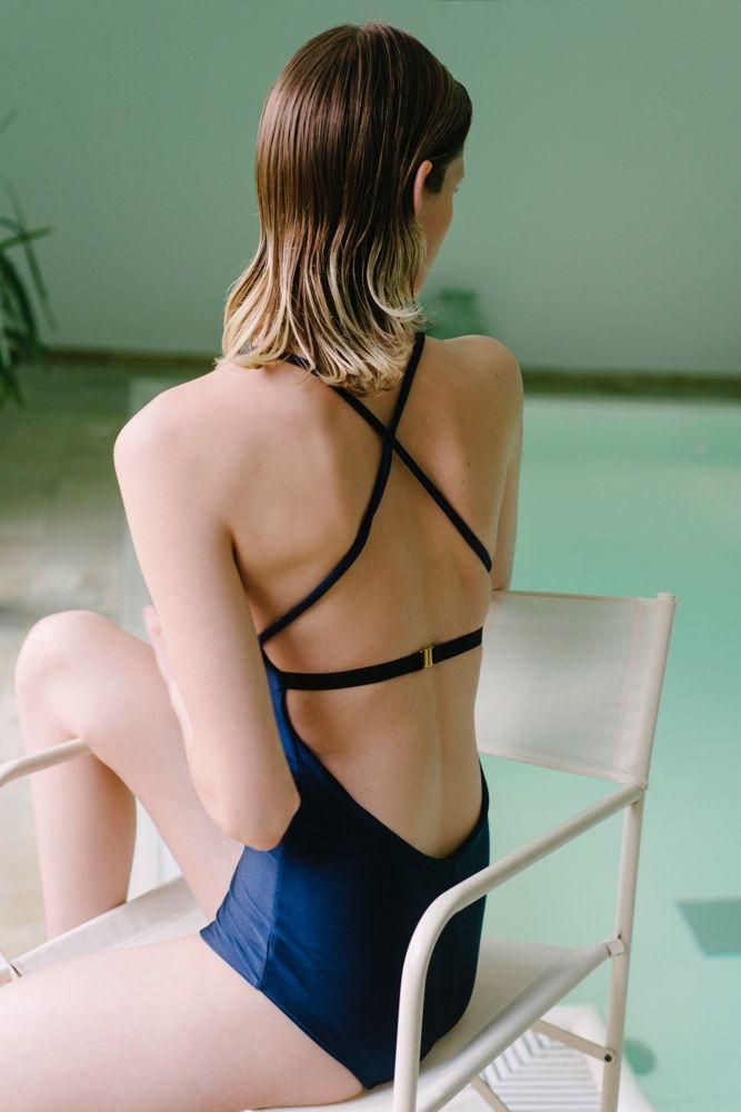 Swimsuit No.4 with Ilvie Wittek #VeronicaDreyer #Swimwear #IlvieWittek